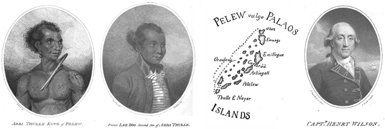 Abba Thulle, Prince Lee Boo, Palau Historic Map and Captain Wilson